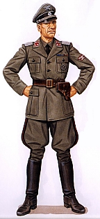 tunic was also seen   Waffen Ss Officer Uniform